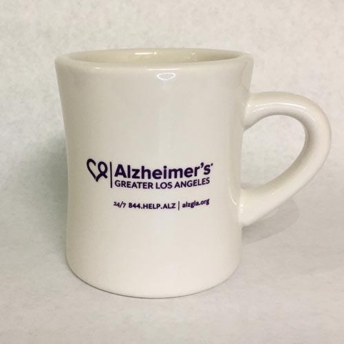 Lets Face It Together ALZGLA Mug Back