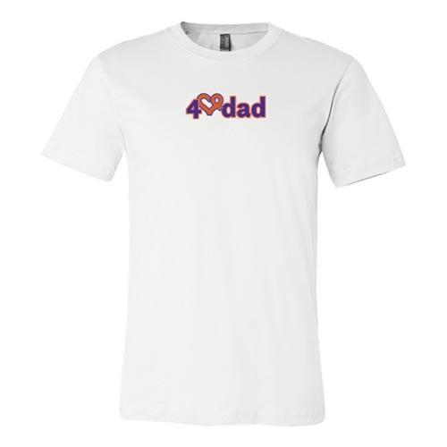 4dad shirt white