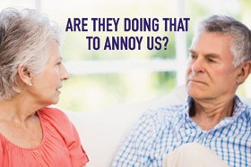 Are they doing that to annoy us? Behaviors & Alzheimer's @ Roze Room Hospice | Los Angeles | California | United States