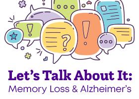 Memory Loss & Alzheimer's: Let's Talk! @ Chet Holifield Public Library | Montebello | California | United States