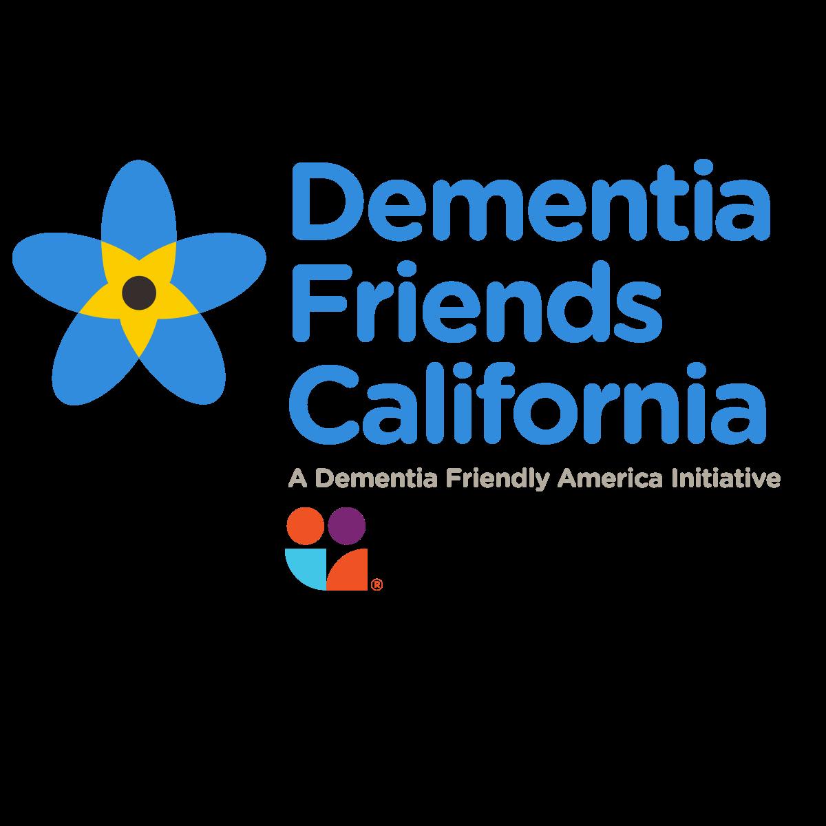Dementia Friends California logo