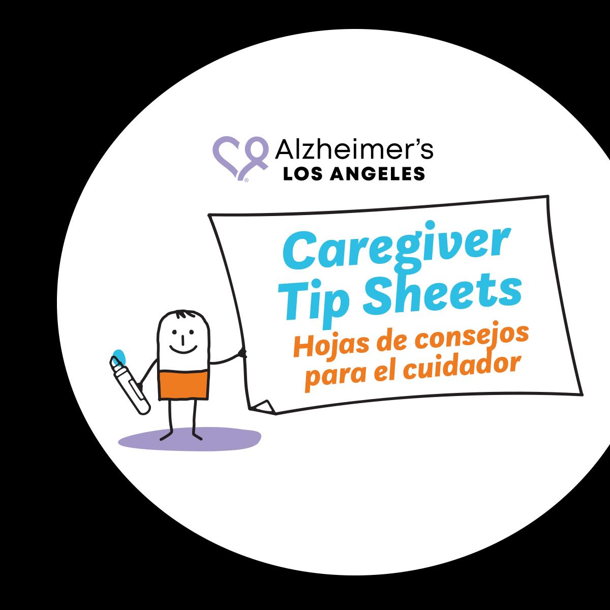 Caregiver Tip Sheets cover