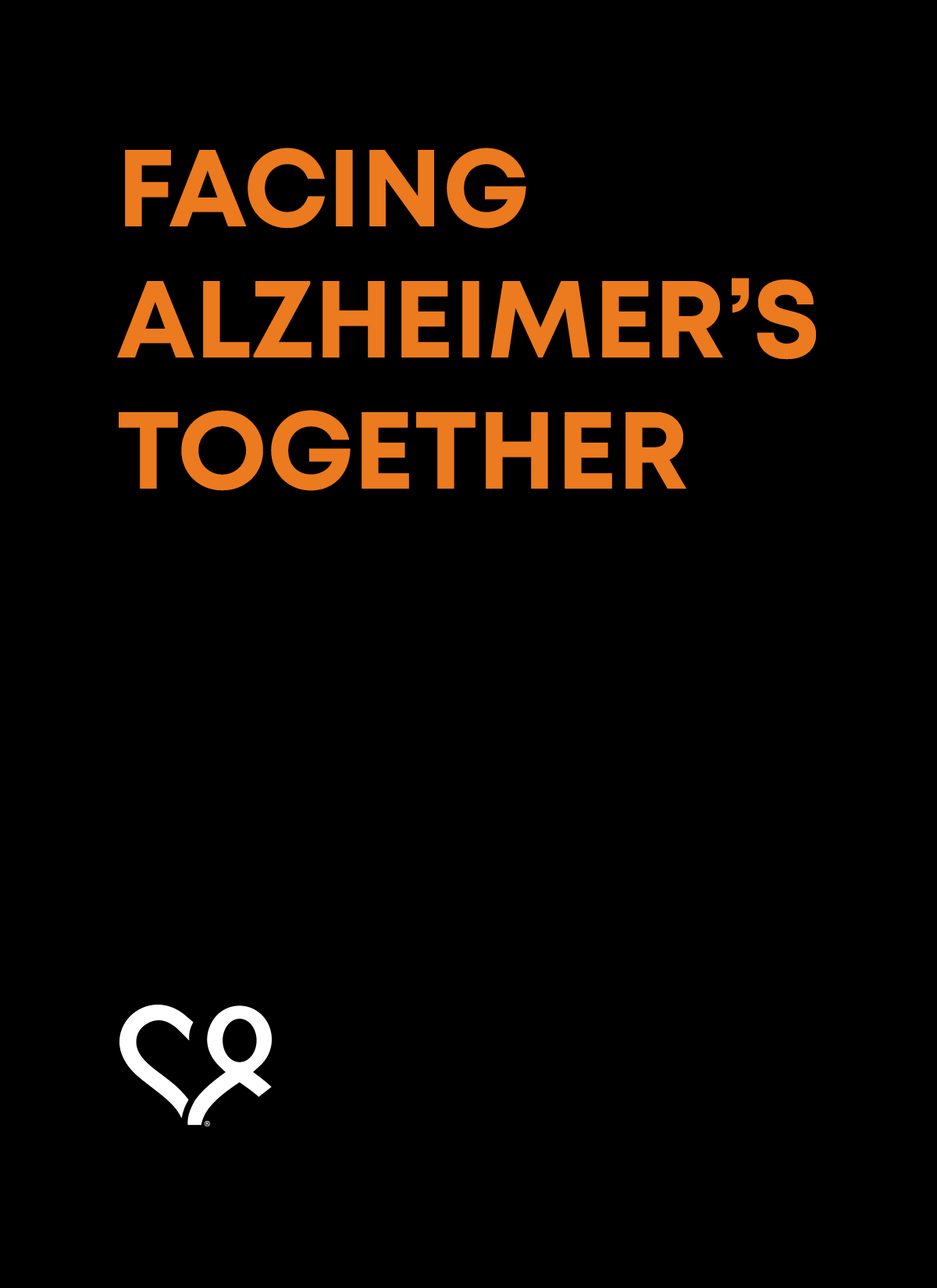 Facing Alzheimer's Together - title slide