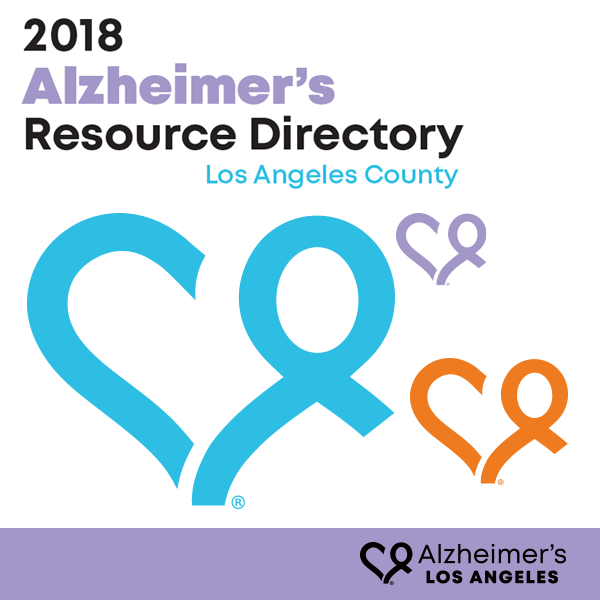 Alzheimer's Los Angeles Resource Directory cover