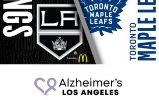 LA Kings - Alzheimer's Los Angeles fundraiser
