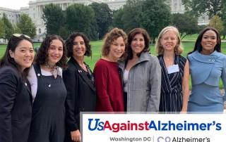 UsAgainstAlzheimer's 2018 - Alzheimer's Los Angeles delegation
