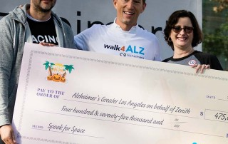 walk4ALZ LA 2018 - USAToday/Zenith check presentation