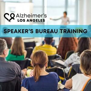 Speaker's Bureau Volunteer Training @ Alzheimer's Los Angeles, San Fernando Valley Service Center | Los Angeles | California | United States