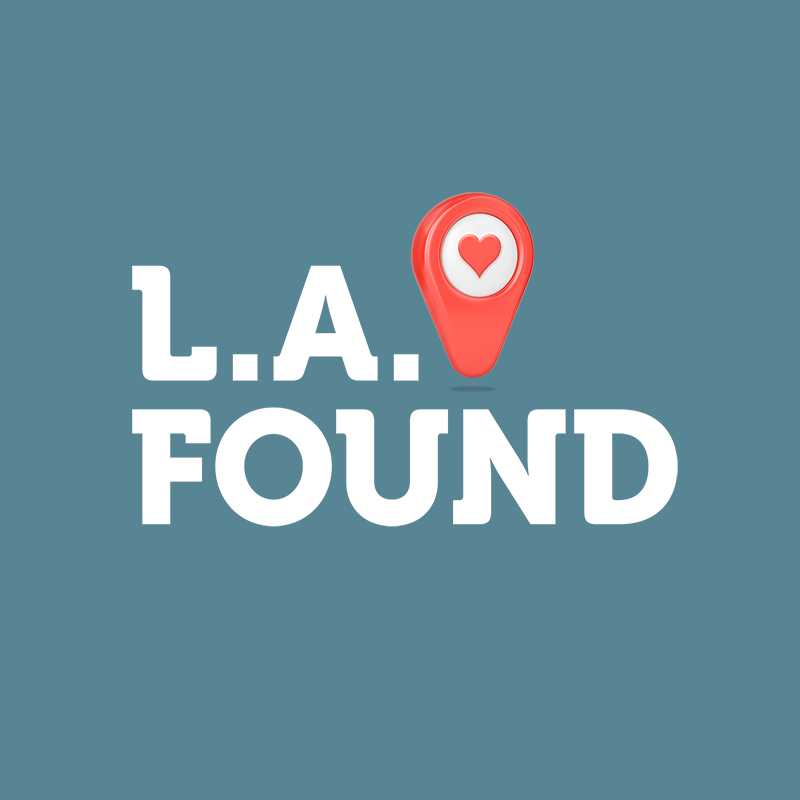 LA Found logo