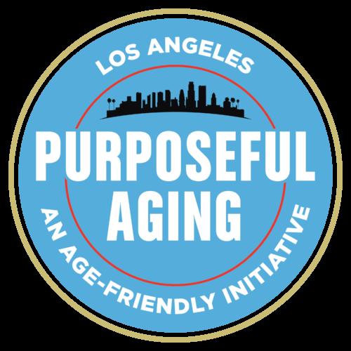 Los Angeles Purposeful Aging logo