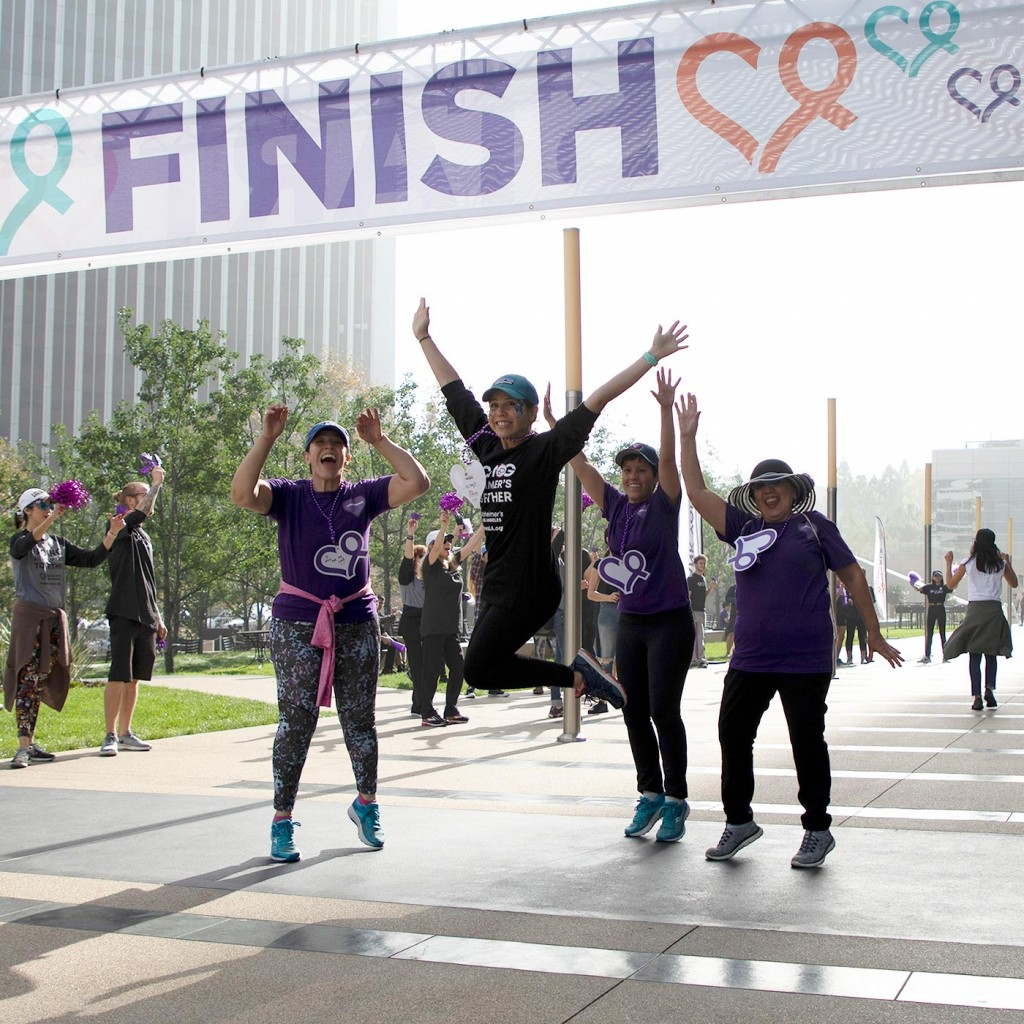 walk4ALZ® LA 2019 - finish line