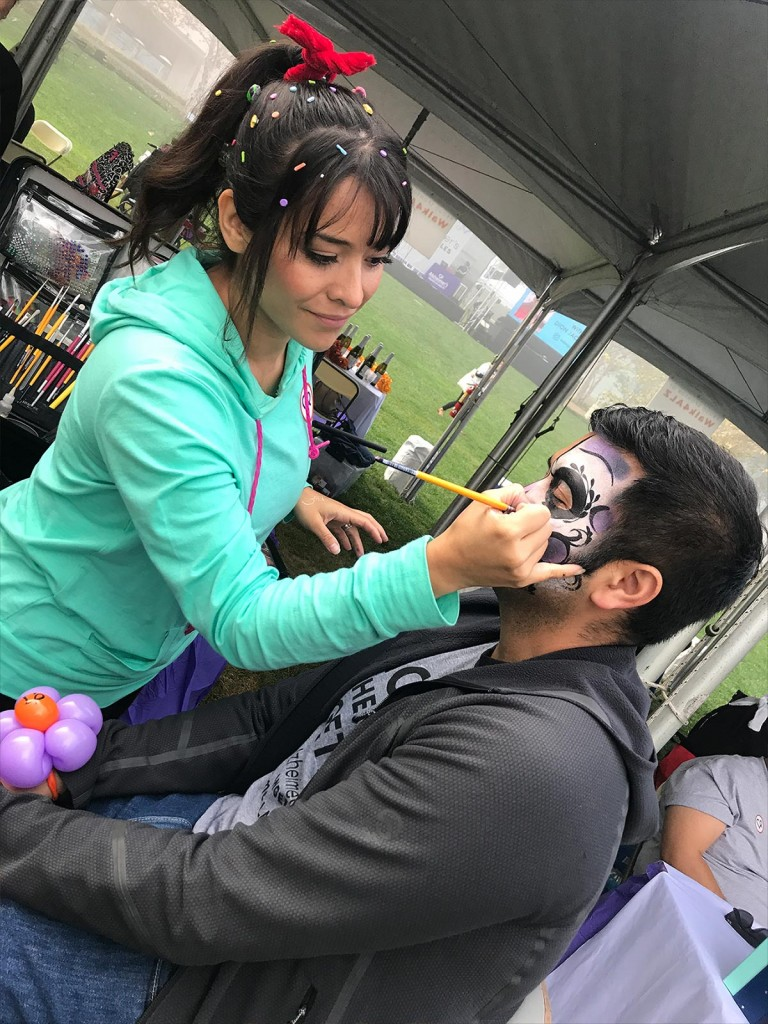 walk4ALZ® LA 2019 - face painting
