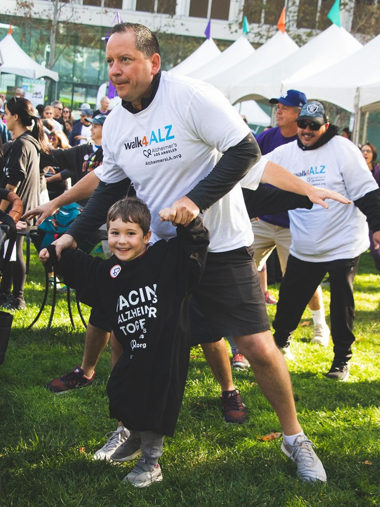 walk4ALZ® LA 2019 - warm-up