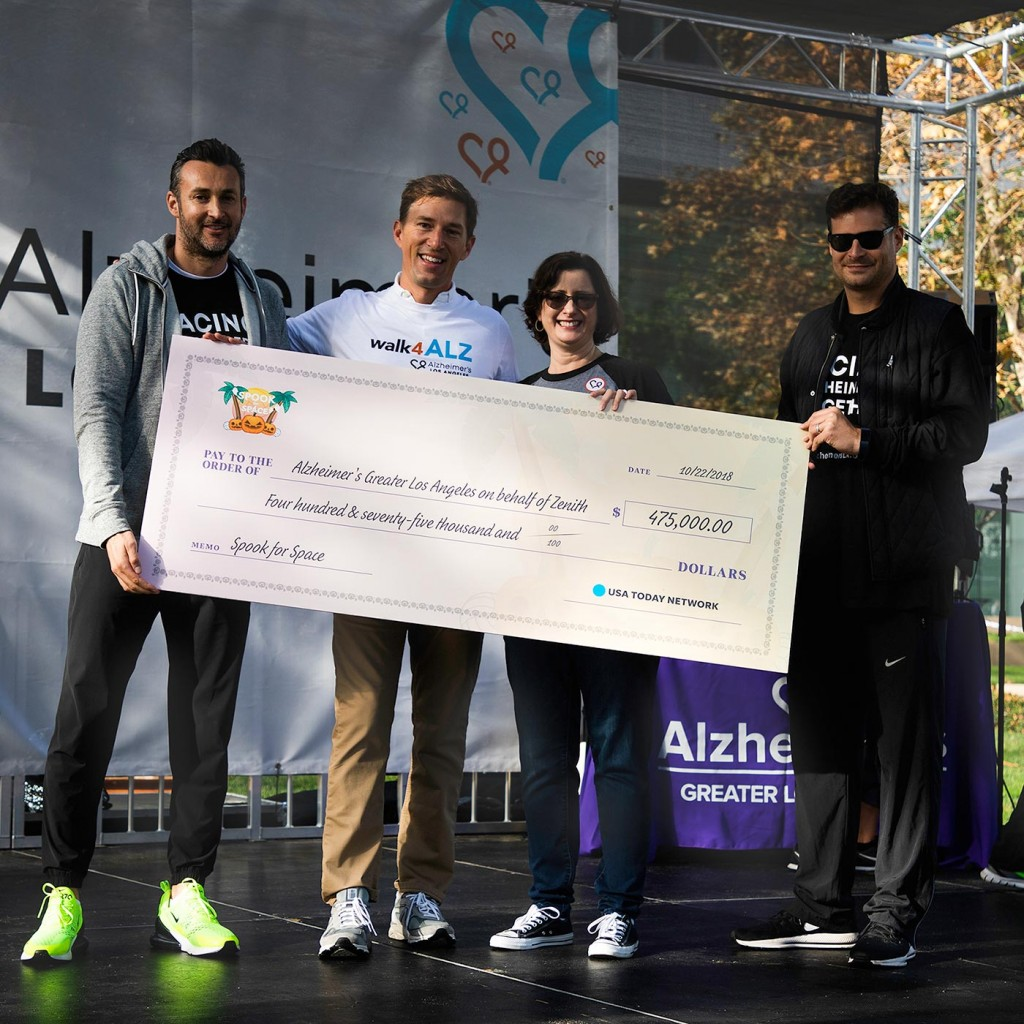 walk4ALZ® LA 2019 - Zenith check