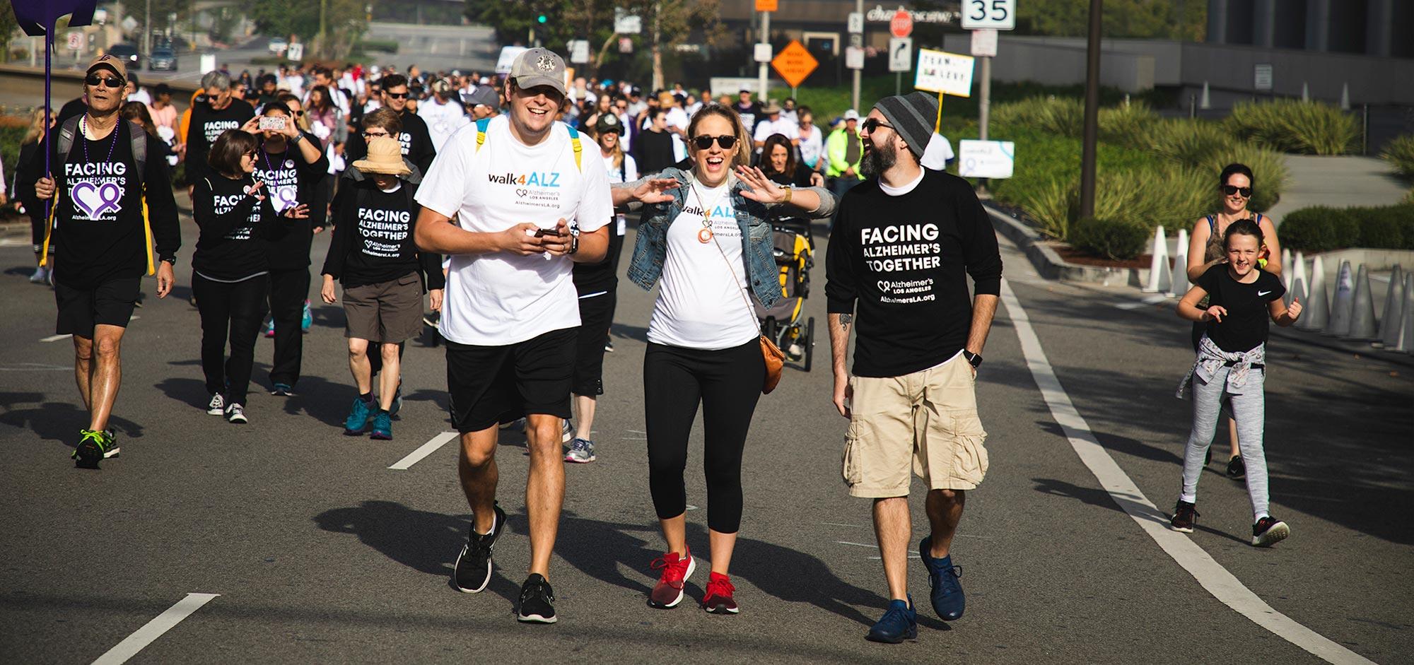 walk4ALZ® LA 2019 - walkers