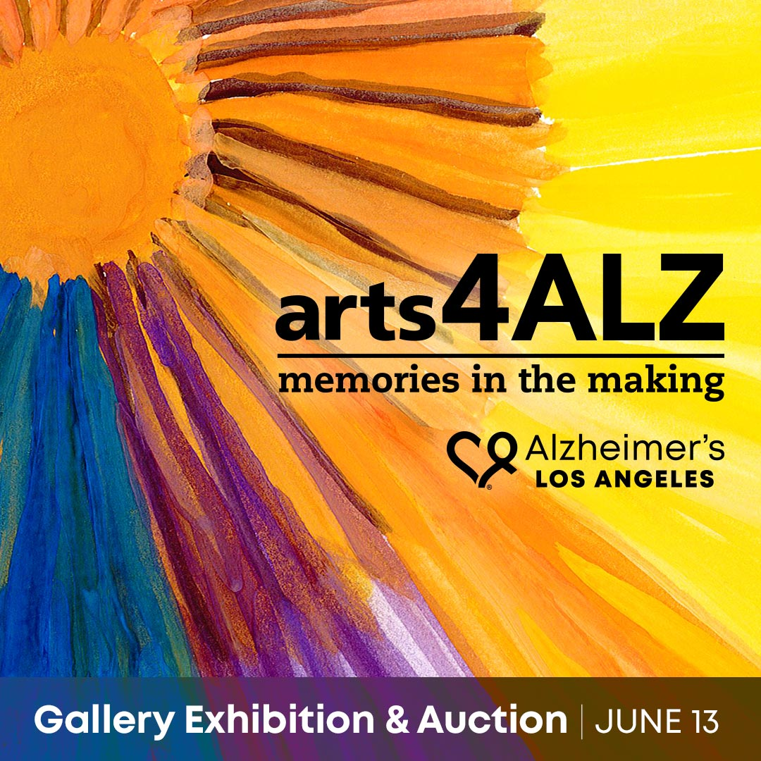arts4ALZ Memories in the Making exhibit 2019