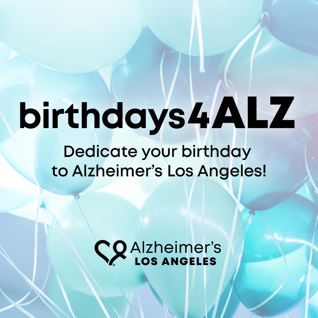 birthdays4ALZ balloons